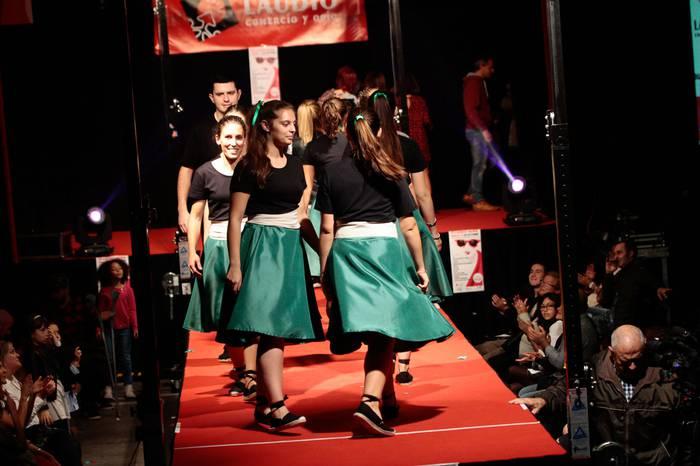 Azken joerak ikusteko beta Laudio Moda desfilean, larunbatean