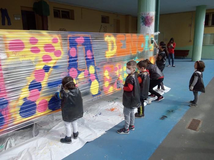 Graffiti tailerra burutu dute Lamuza Ikastetxean - 10