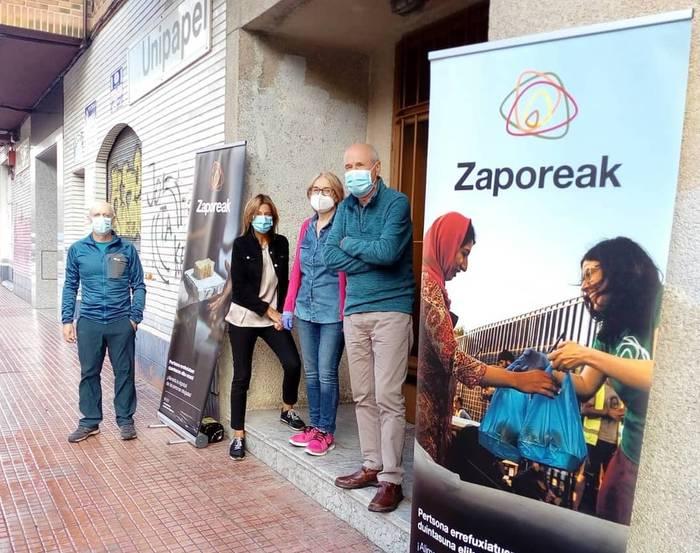 Moriako errefuxiatuentzako janari bilketa egingo dute ostiralean Orozkon