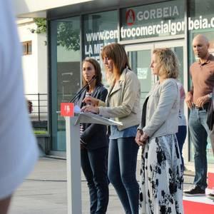 """""""Mundura irekitako Euskadi bat"""" aldarrikatu du Idoia Mendiak Laudion"""