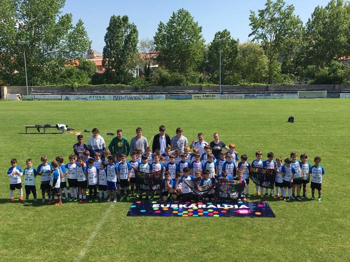 Arabako euskarazko futbol topaketetan izan da Etorkizuna