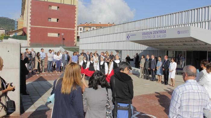 Iñigo Urkullu Lehendakariak inauguratu du anbulatorio berria - 9