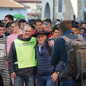 Ander Ganzabalek irabazi du San Silbestre lasterketa jendetsua