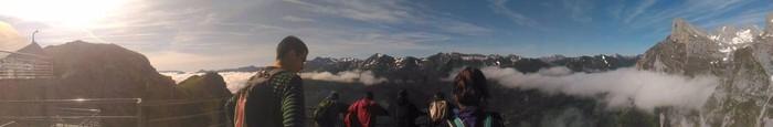 Picos de Europa bisitatu dute Matxinkortako kideek - 9