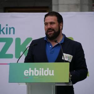 """EH Bildu: """"Udala kudeatzen onenak izan garela demostratu dugu"""""""