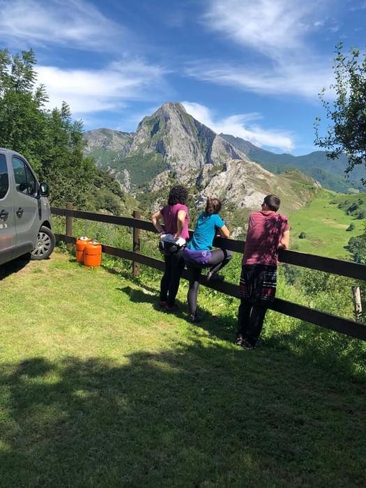 Picos de Europa bisitatu dute Matxinkortako kideek - 15