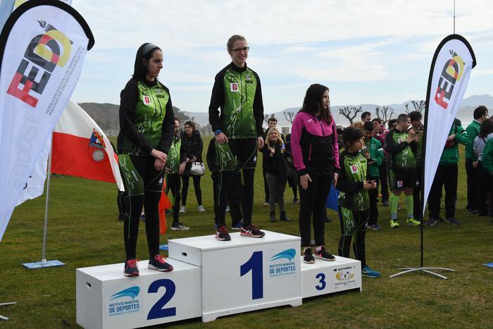 Atletismo Egokituko Espainiako txapelketan bigarren geratu da Olaia Gurrutxaga - 3