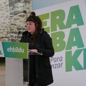 Eskuin indarra gainditzeko eta euskal gizartea defendatzeko aukerak nabarmendu ditu EH Bilduk