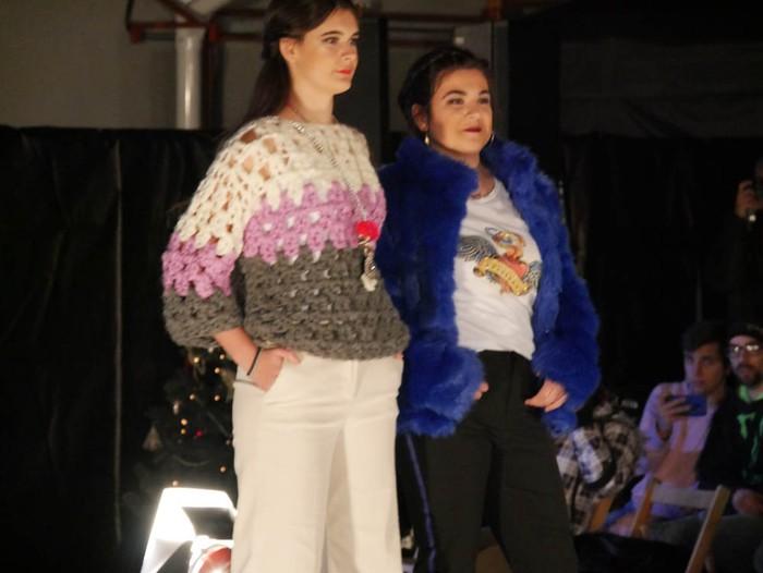 Ikasbidaia antolatzeko moda desfilea egin zuten ikastolan - 76