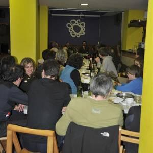 Bertso afaria Basalarrinan: Silveira eta Peñagarikano