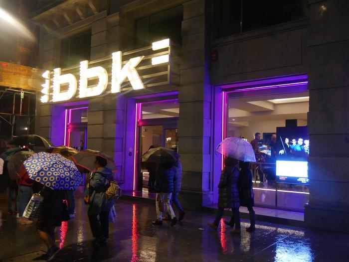 Bilboko BBK Aretoa bete zuen Gorbeiako artzaintzari buruzko dokumentalaren aurkezpenak - 1