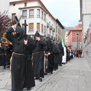 Prozesioak itzuli dira Aste Santuan