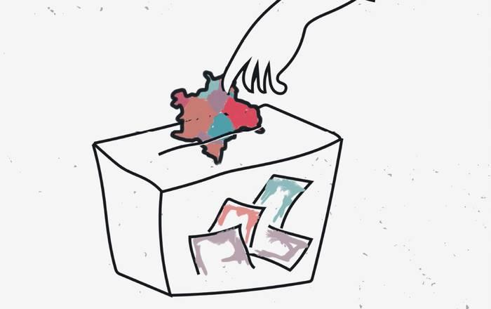 Eskualdeko mapa politikoa, berrosatzear