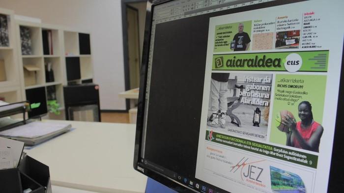 Aiaraldea Egunkariaren zenbaki bikoitza argitaratuko da gaur, Gabonetako gehigarri bereziarekin