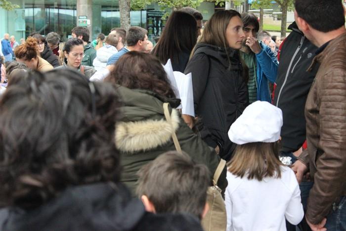 Danbor hotsez bete dituzte bazterrak Laudio eta Amurrioko eskolek - 171