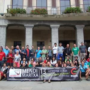 Euskal Selekzioaren ofizialtasunaren aldeko ibilaldia