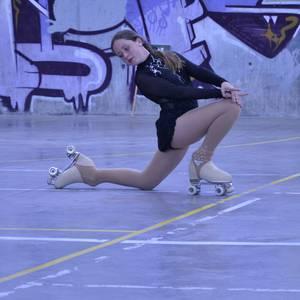 Patinen gaineko koreografien erakusleiho bihurtu da Zabaleko ikastetxea, Lautxirrinkaren eskutik