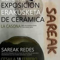 Zeramika erakusketa: Sareak