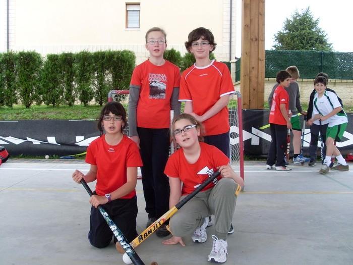 Partaidetza zabala eta giro ederra II. San Prudentzio 3x3 Hockey Txapelketan - 2