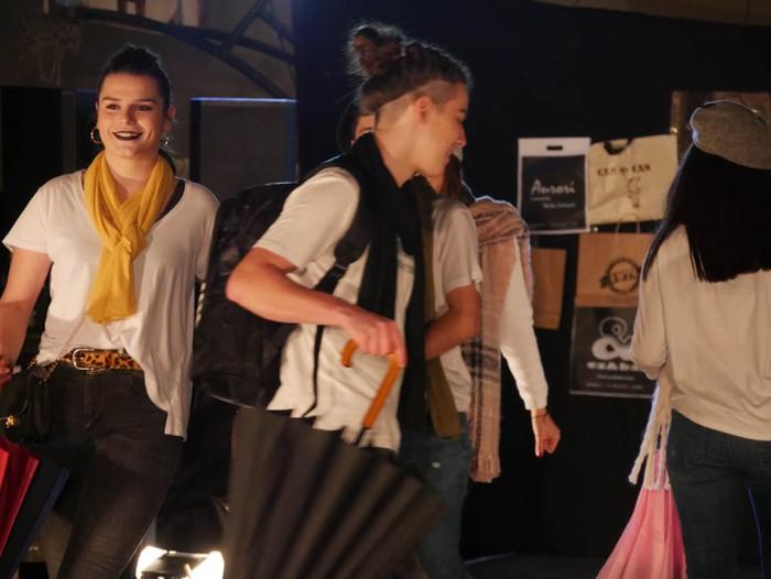 Ikasbidaia antolatzeko moda desfilea egin zuten ikastolan - 30