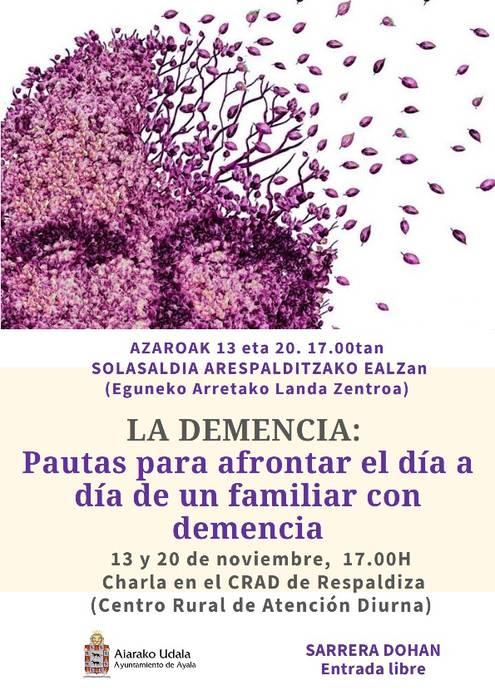 Dementziari buruzko ikastaroa