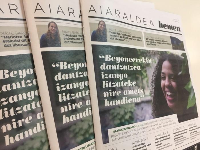 Saydi Lubanzadio Aiaraldea Hemen hamabostekariko protagonista
