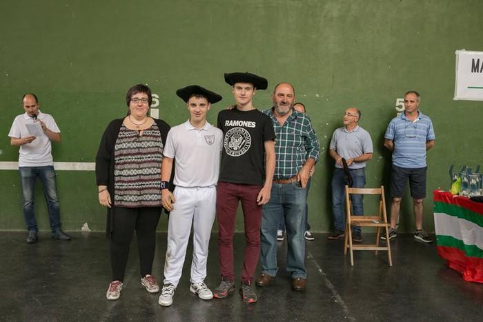 Herriko pilota txapelketa jokatu zuten asteburuan - 12