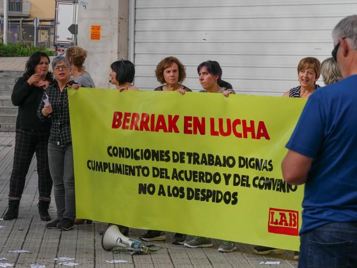 Eskualdeko mobilizazioa egingo dute bihar Berriak supermerkatuetako langileek