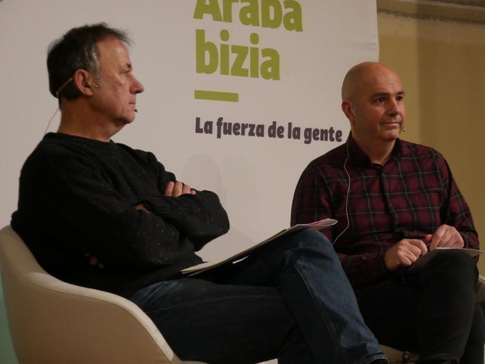 Joseba Vivanco EH Bilduko alkategiaren aurkezpenean Kike Fernandez de Pinedo ere aritu zen - 4