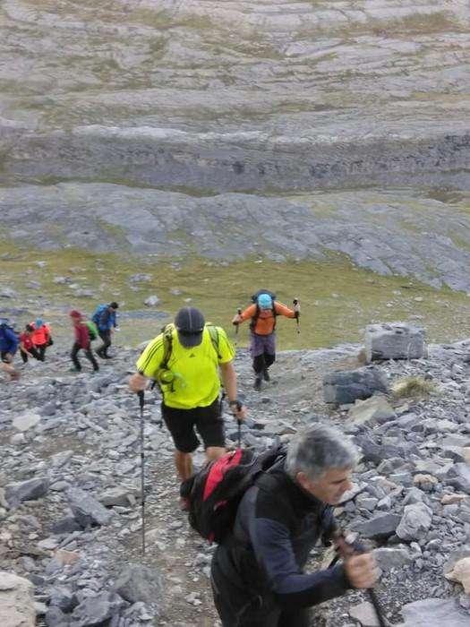 Monte Perdidon aritu dira Matxinkorta mendi taldeko kideak - 13