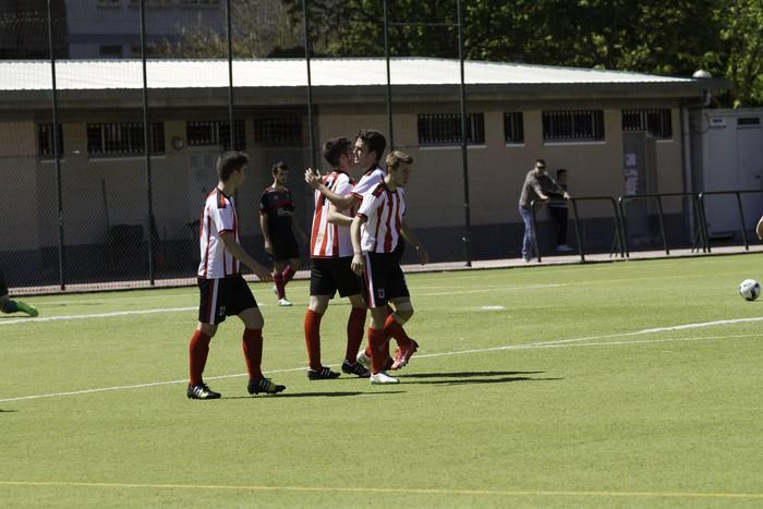CD Laudioko gazteek lortu dute sailkapena Euskal Ligako play-offak jokatzeko - 15