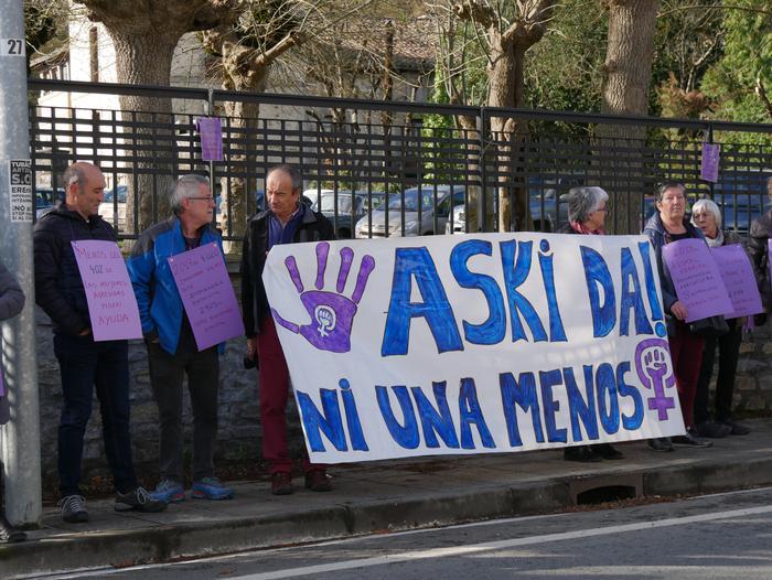 Indarkeria matxistaren aurka mobilizatu dira eskualde osoan - 16
