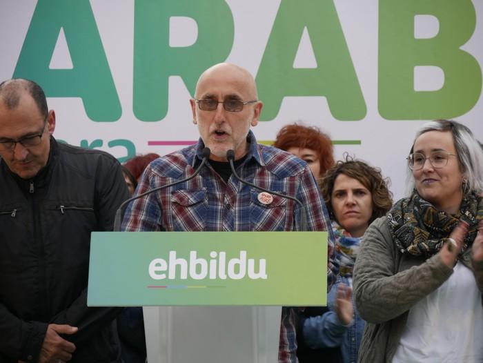 """""""Amurrio eta Araba eraldatzen jarraitzeko"""" konpromisoan berretsi da EH Bildu - 3"""