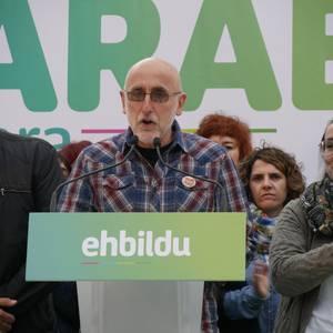 """""""Amurrio eta Araba eraldatzen jarraitzeko"""" konpromisoan berretsi da EH Bildu"""