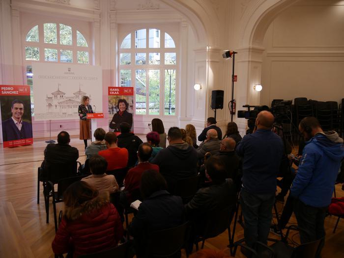 Idoia Mendiak Vox eta eskuinaren aurkako boto sozialista eskatu du - 22