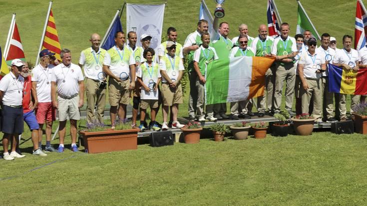 Irlanda txapeldun eta Katalunia bigarren Urduñan jokatutako Europako Pitch & Putt Txapelketan