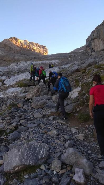 Monte Perdidon aritu dira Matxinkorta mendi taldeko kideak - 9