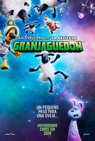 """La oveja Shaun: Granjaguedón"""
