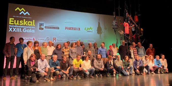 Euskal Mendizale Federazioak eta Pyrenaica aldizkariak gala egingo dute Amurrio Antzokian