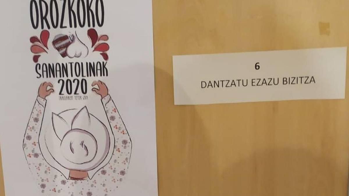Nora Latatu Landaluzek irabazi du hirugarren aldiz Orozkoko Jaien kartel lehiaketa