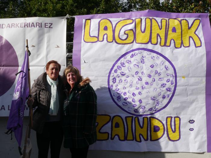 Indarkeria matxistaren aurka mobilizatu dira eskualde osoan - 100