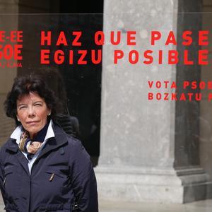 Isabel Celaák ziurtatu du egun gutxi barru konponduko dutela behin betiko Nerbioiko saneamenduaren arazoa