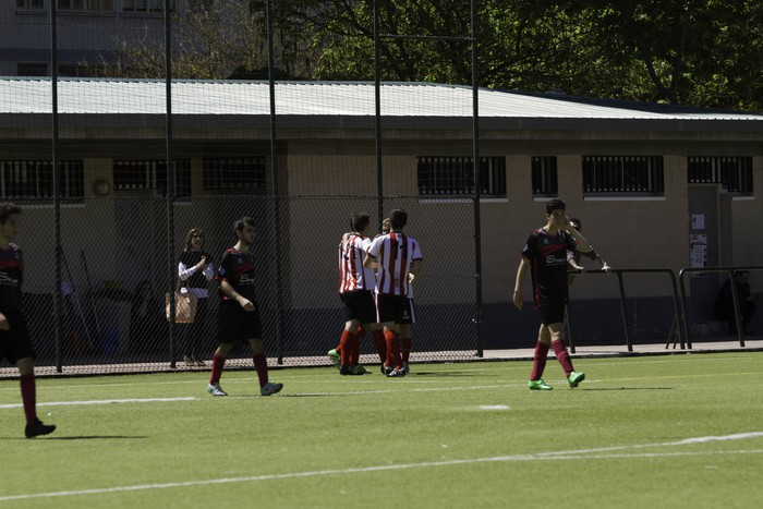 CD Laudioko gazteek lortu dute sailkapena Euskal Ligako play-offak jokatzeko - 26