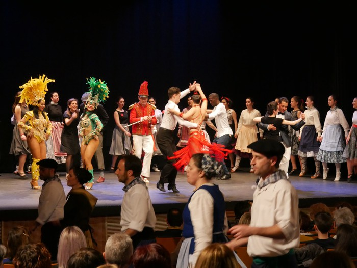 """150 dantzari baino gehiago igoko dira oholtzara """"Nahas Jolas 2"""" ikuskizunean"""