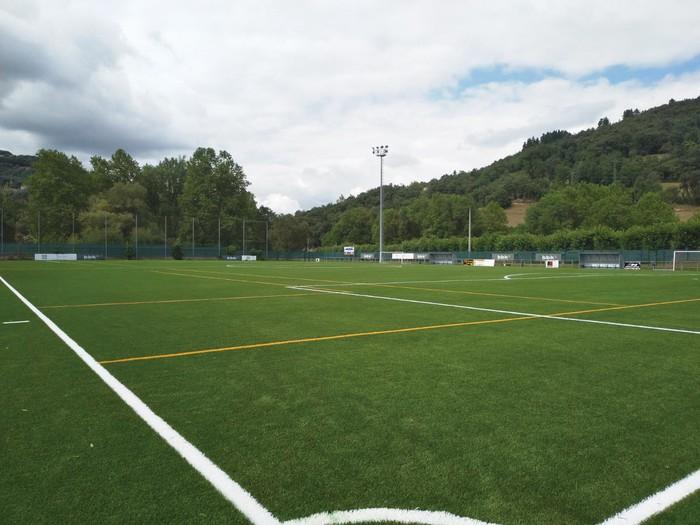 Arbietoko futbol zelaia prest dago denboraldia hasteko