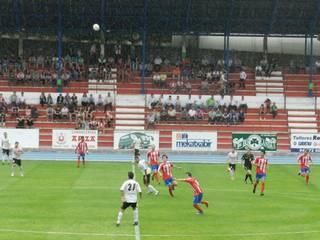 CD Laudiok San Fernando CD taldearen aurka galdu zuen atzo Andaluzian