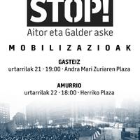 'ANkerkeriari STOP' Manifestazioa Amurrion