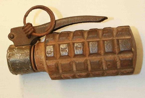 Guda Zibilekoa zen Okondon iragan astean lehertu zen granada