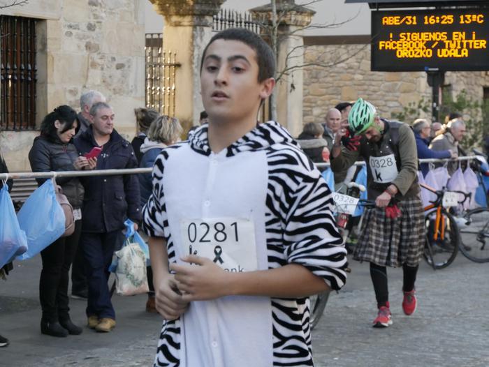 502 kirolarik hartu zuten parte San Silbestre Duatloian - 99