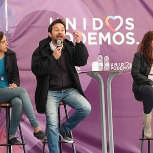 PPren aurkako mezua azpimarratu zuen atzo Unidos Podemos/Elkarrekin Ahal Dugu koalizioak